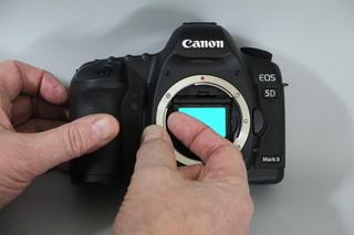 Montage der Astronomik EOS XL Clip-Filter