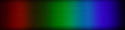 Spektrum einer Aurora Flatfield-Leuchtfolie