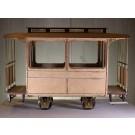 Bausatz Decauville Personenwagen, 2 Fenster, 32mm Spurweite (7/8th  1:13,3)