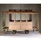 Bausatz Decauville Personenwagen, 4 Fenster, 45mm Spurweite (7/8th  1:13,3)