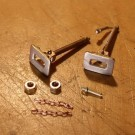 Couplers 20mm x 14mm (cast brass, 1 pair)