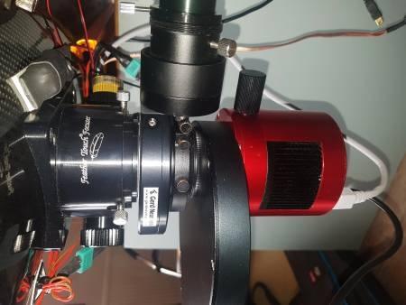 CTU in optical setup