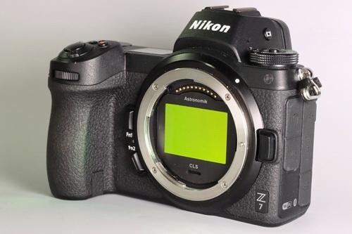 Nikon Z7 mit Astronomik Clip-Filter
