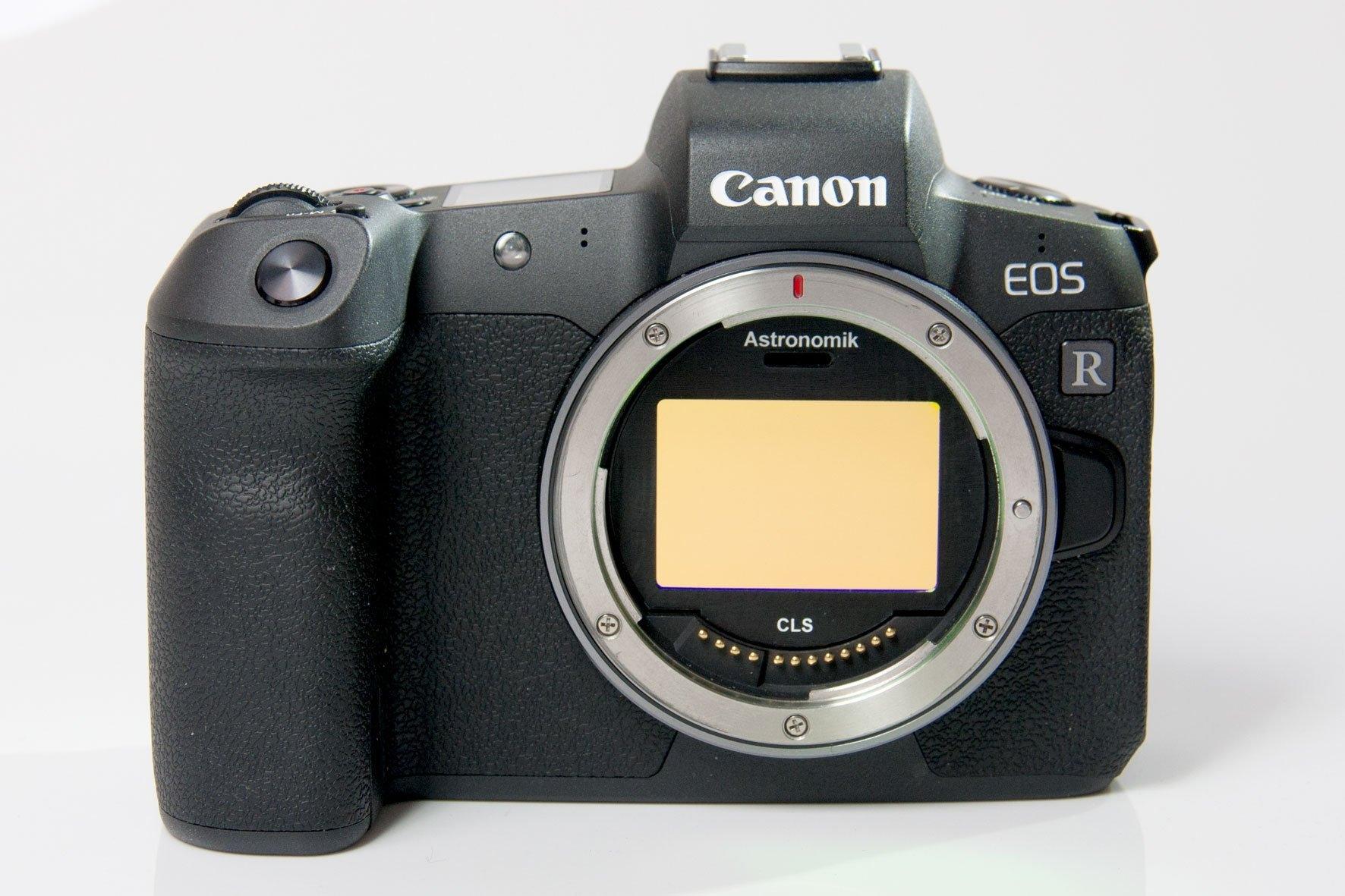Canon EOS R mit Clip-Filter